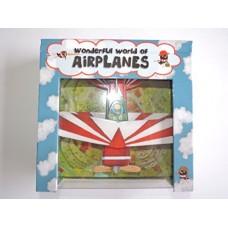 Wonderful World of Airplanes - Interactive Children's Book