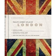 Philip's Street Atlas of London: De Luxe Edition Union Jack