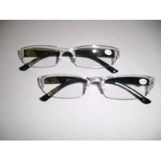 2x PAIRS (TWIN PACK) READY-READERS READING GLASSES +2.50