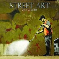 Street Art 2017 wall calendar