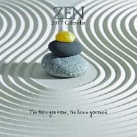 Zen 2017 Wall Calendar